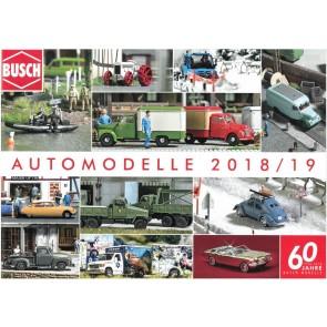 Busch 49993 - BUSCH AUTOMODELLEN CAT. 2018/19