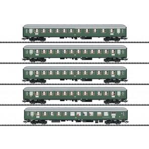 "Trix 23132 - Schnellzugwagen-Set 1 ""D96 Isar-Rhone"" OP=OP!"