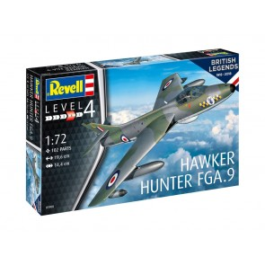 Revell 03908 - British Legends: Hawker Hunter FGA.9