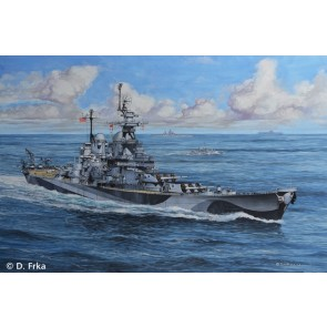 Revell 65128 - Model Set Battleship U.S.S. Miss