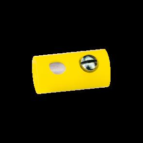 Brawa 3041 - Muffen rund, gelb [10 Stück]