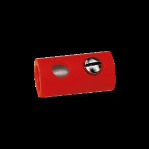 Brawa 3042 - Muffen rund, rot [10 Stück]