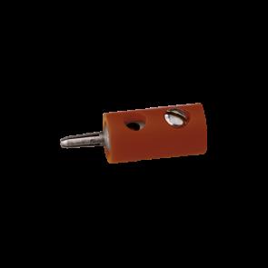Brawa 3054 - Stecker rund, braun [10 Stück]