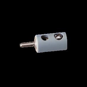 Brawa 3057 - Stecker rund, grau [10 Stück]