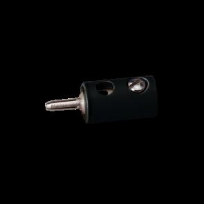 Brawa 3058 - Stecker rund, schwarz [10 Stück]