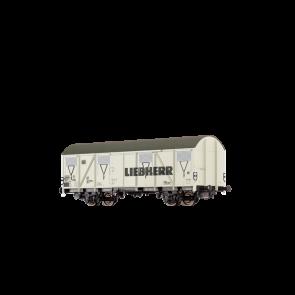 Brawa 47282 - H0 Güterwagen Gbs 245 DB, IV, Liebherr