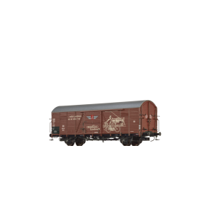 Brawa 48738 - H0 Güterwagen Glr 23 DB, III, Zündapp