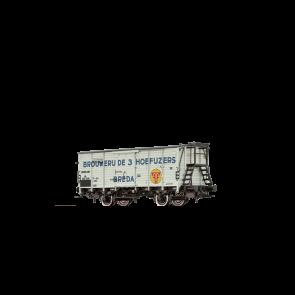 Brawa 49776 - H0 Bierwagen G10 NS, III, Brouwerij Hoefijzers