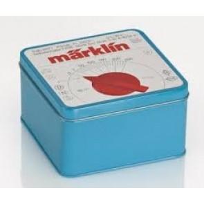 Marklin 012509 - Koek-/snoepblik in de vorm van de oude bekende Märklin Trafo