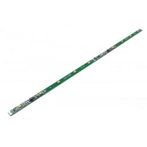 Digikeijs DR110Y - Ledstrook GEEL, 28cm, regelbaar, antiknipper, 10 leds, per led inkortbaar.