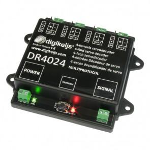 Digikeijs DR4024 - 4 Kanaals Servodecoder met 4 extra schakeluitgangen
