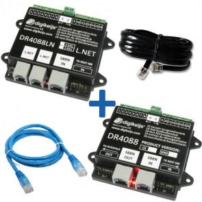 Digikeijs DR4088LN 3R_BOX - Complete LNET (32 terugmeldpunten) set incl. DR4088LN-R, DR4088GND, DR60890 en DR60881