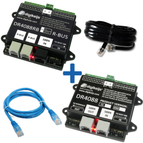 Digikeijs DR4088RB OPTO_BOX - Complete RBUS (32 terugmeldpunten) set incl. DR4088RB-OPTO, DR4088OPTO, DR60890 en DR60881