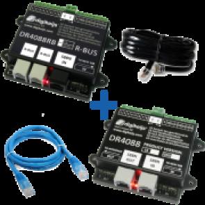 Digikeijs DR4088RB CS_BOX - Complete R-BUS (32 terugmeldpunten) set incl. DR4088RB-CS, DR4088CS, DR60890 en DR60881