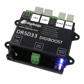 Digikeijs DR5033 - DCC Booster 3 Ampère ZONDER voeding.