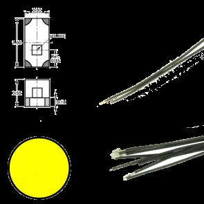 Digikeijs DR60091 - Led aan draad Geel (5x)