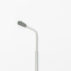 Digikeijs DR60211 - Straatlamp enkel H0 met led WarmWit (4 stuks)