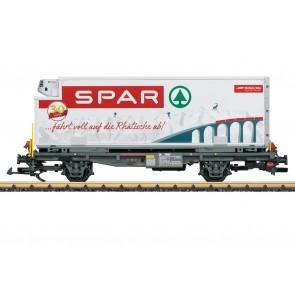 Lgb 46897 - RhB containerwagen Spar