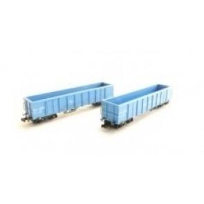 Hobbytrain H23417 - 2 goederenwagens Eanos NS