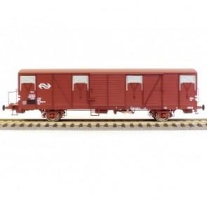 Exact train EX20257 - NS GBS 2er Set Bremserbühne ohne NS Logo und mit NS Logo Epoche 4
