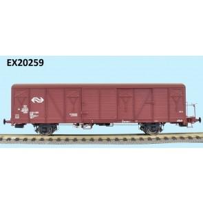 Exact train EX20259 - NS GBS 2er Set Bremserbühne EUROP mit NS Logo Epoche 4