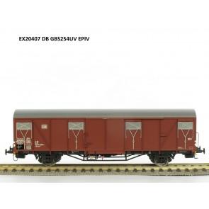 Exact train EX20407 - DB Güterwagen Gbs 254UV mit DB Logo Epoche 4 OP=OP!