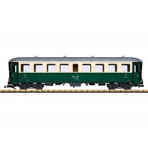 Lgb 32524 - RhB personenrijtuig 2e klas