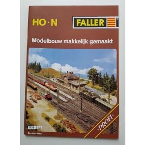 Faller 190842 - BROCHURE MODELB. MAKKELIJK GEMAAKT PROFI NL