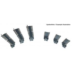 Fleischmann 665301 - Uitbreidingsset voor draaischijf 665201 AC