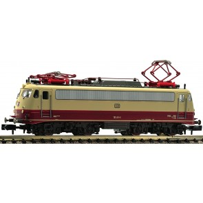 Fleischmann 733890 - E-Lok BR 112, rot / beige, DCC