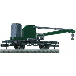 Fleischmann 850301 - Kranwagen grün, DB