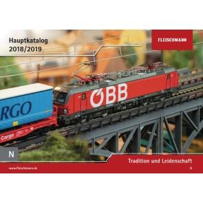 Fleischmann 990118 - Catalogus 2018/2019 N-schaal