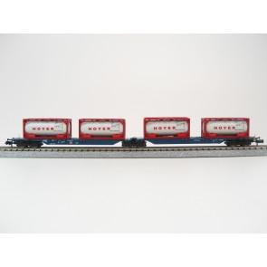 Hobbytrain H23711 - Containerdraagwagen DB OP=OP!