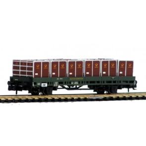 Hobbytrain H23810 - Platte wagen met lading DB OP=OP!