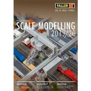 Faller 190908GB - FALLER KATALOG 2019/2020 ENGELS