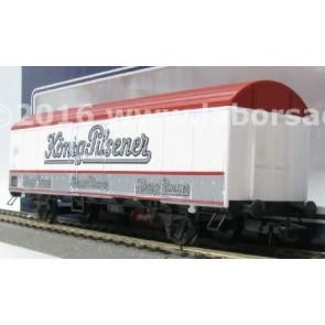 Lima L302704 - Gesloten goederenwagen Konig-Pilsener DB