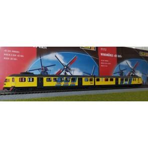 Rivarossi HR2362C - Mat 46 Volkskrant/Camel 2-delig geel NS AC Digitaal