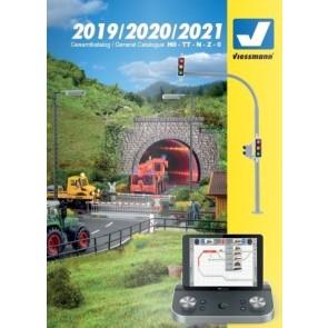 Viessmann 8999 - Catalogus 2019 / 2020 / 2021 (Engels/Duits)