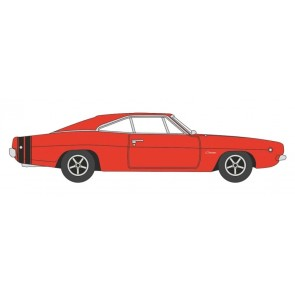 Oxford 129436 - DODGE CHARGER,ROT 87DC68001