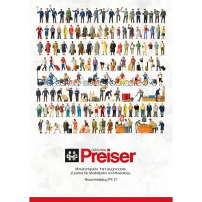 Preiser 93059 - Preiser Catalogus PK 27