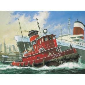 Revell 65207 - Model Set Harbour Tug Boat