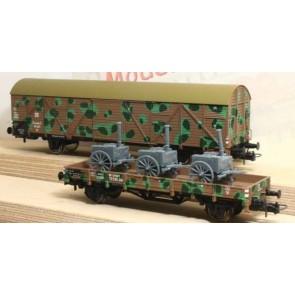 Rivarossi HR6041 - 2-delige camouflageset met lading
