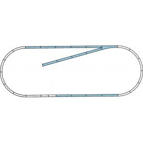 Roco 42010 - ROCO LINE Gleisset B