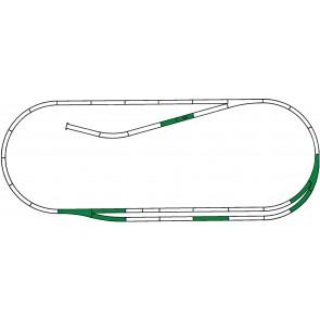 Roco 42011 - ROCO LINE Gleisset C