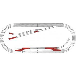Roco 42013 - ROCO LINE Gleisset E