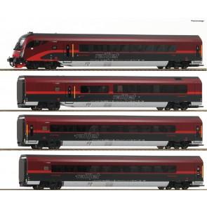 Roco 64189 - 4-delige Railjet set ÖBB