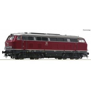 Roco 70751 - Diesellok BR 215 rot
