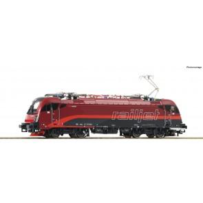 """Roco 73248 - Elektrische locomotief Rh 1216 """"Railjet"""" sound, ÖBB"""
