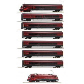 Roco 74115 - 8-delige Railjet set ÖBB sound NOG SLECHTS 1 RESERVEERBAAR!