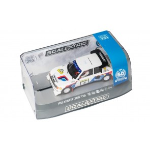 Scalextric 3751A - PEUGOT 205 60TH ANNIV. SPECIAL EDITION